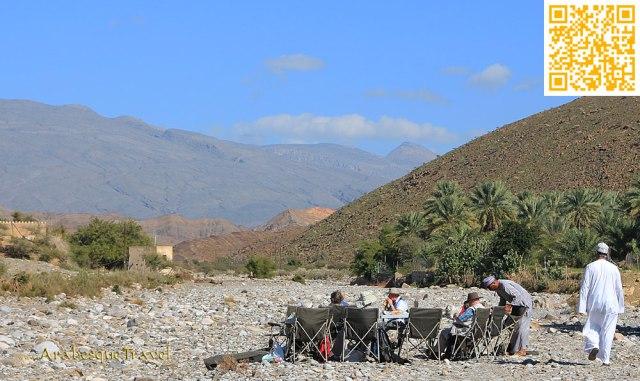 Picnic in an Omani Wadi